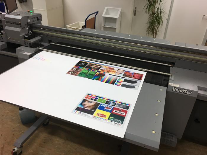 Used Handtop Ht1600 Uv Led Hybrid Printer Sse Worldwide