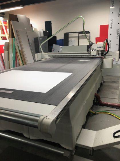 Kongsberg XN24 flatbed cutter